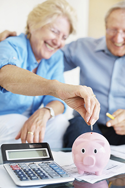 Savings and Money Market Accounts Retired Couple
